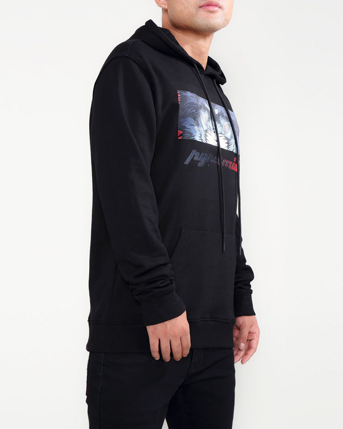 CRYING EYES LOGO HOODY-COLOR: BLACK
