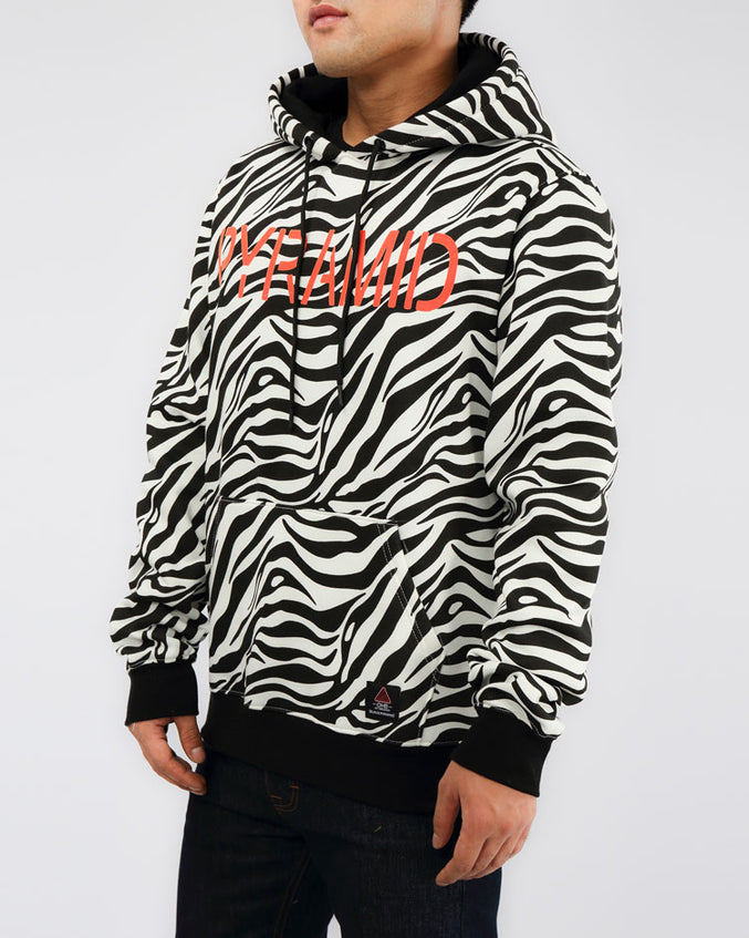 PRIMAL ANIMAL HOODY-COLOR: WHITE