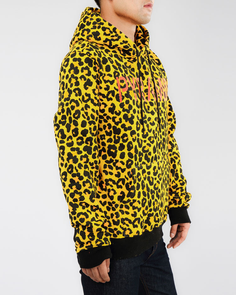 PRIMAL ANIMAL HOODY-COLOR: YELLOW