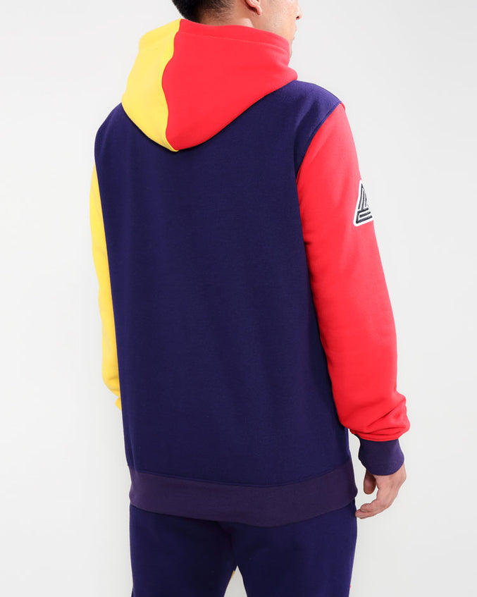 BIG AND TALL 90S KINDA SWERVE HOODY-COLOR: BLUE