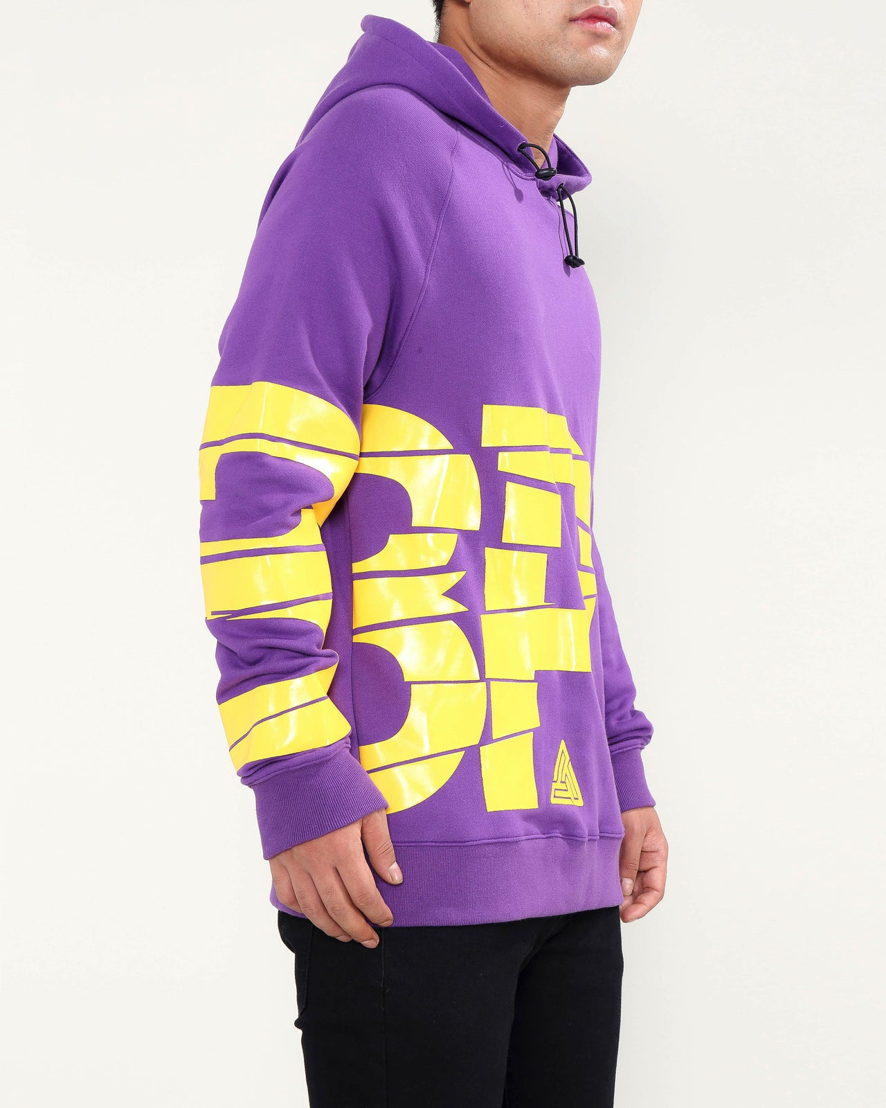 BROKEN GLASS HOODY-COLOR: PURPLE