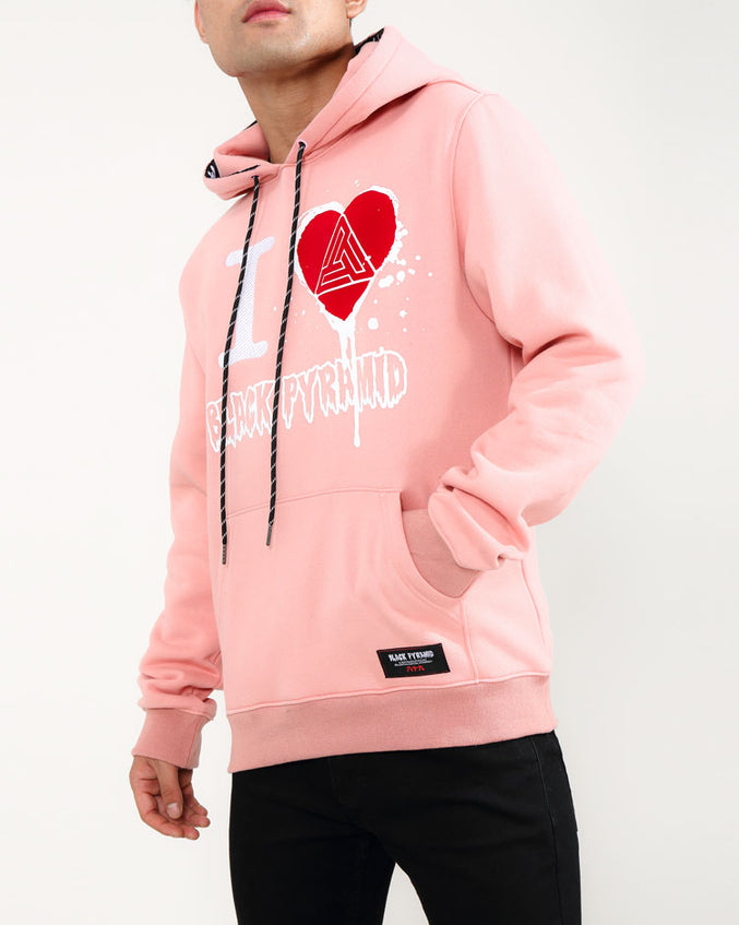 I HEART OG DRIP HOODY-COLOR: PINK