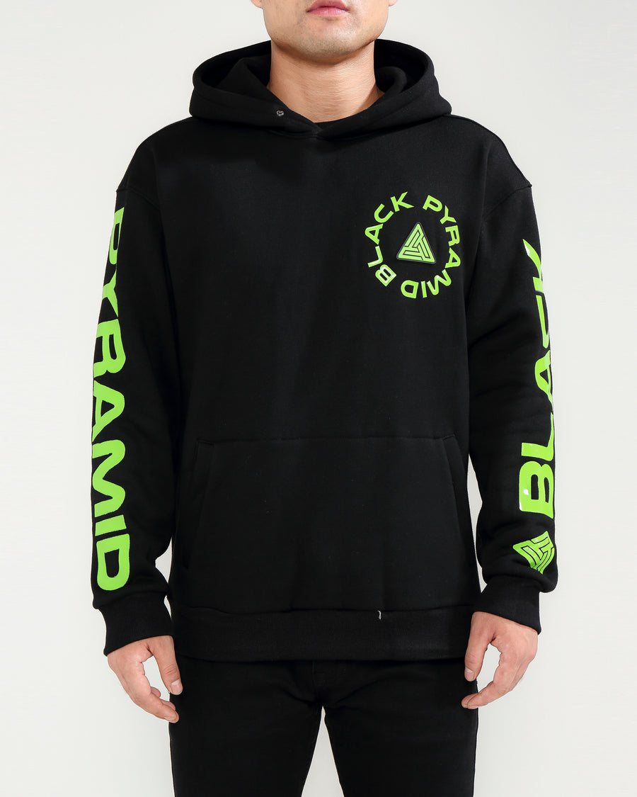 TOTAL COVERAGE LOGO HOODY