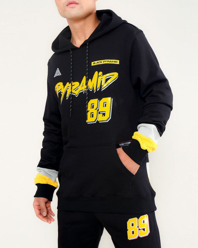 IN MAMI HOODY-COLOR: BLACK