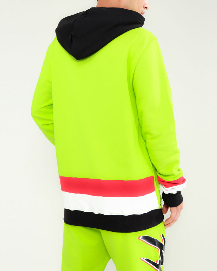IN MAMI HOODY-COLOR: GREEN