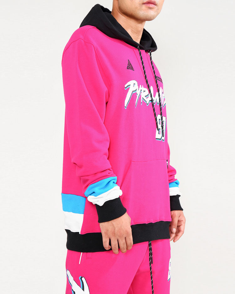 IN MAMI HOODY-COLOR: PINK