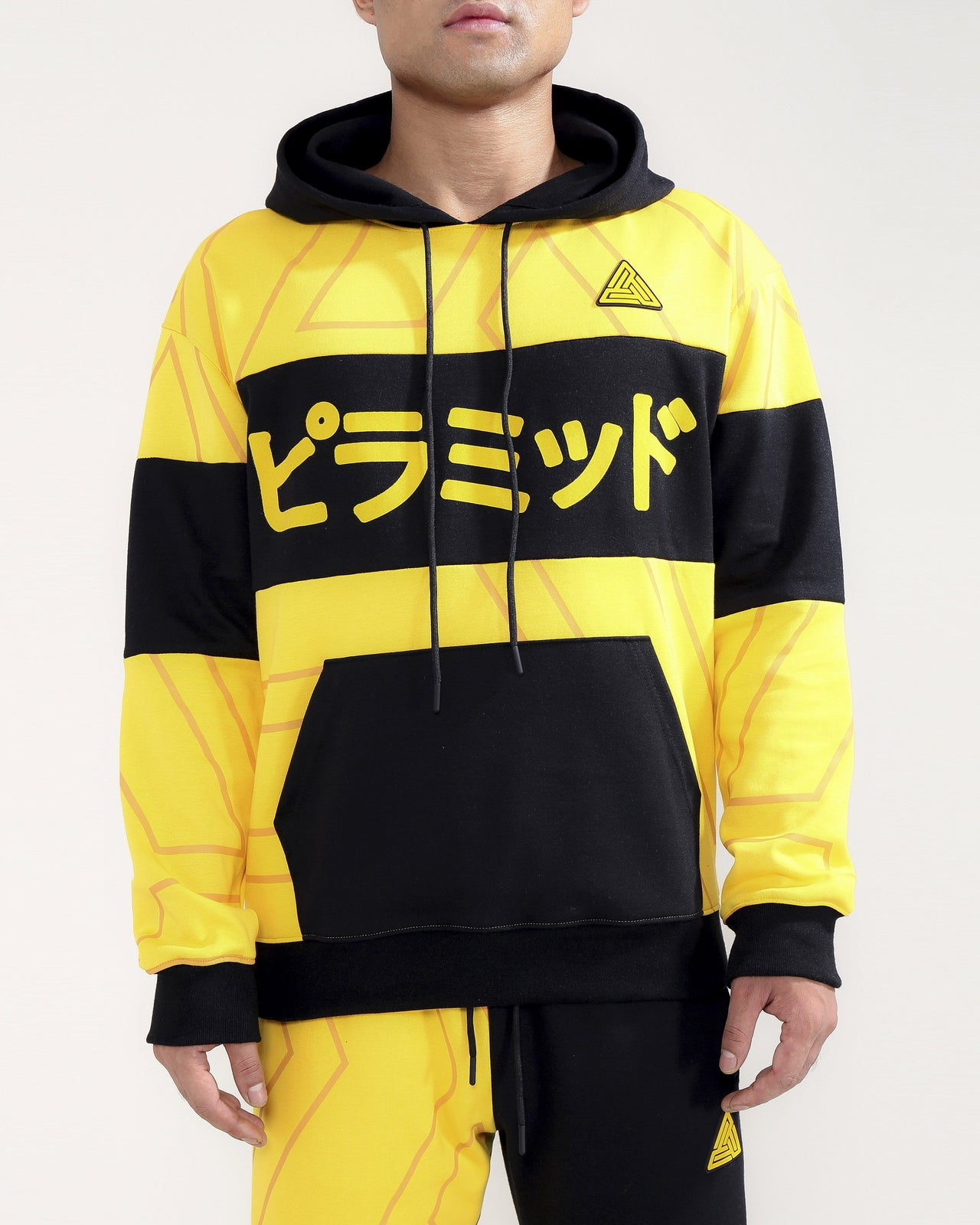 TOKYO HOODY-COLOR: YELLOW