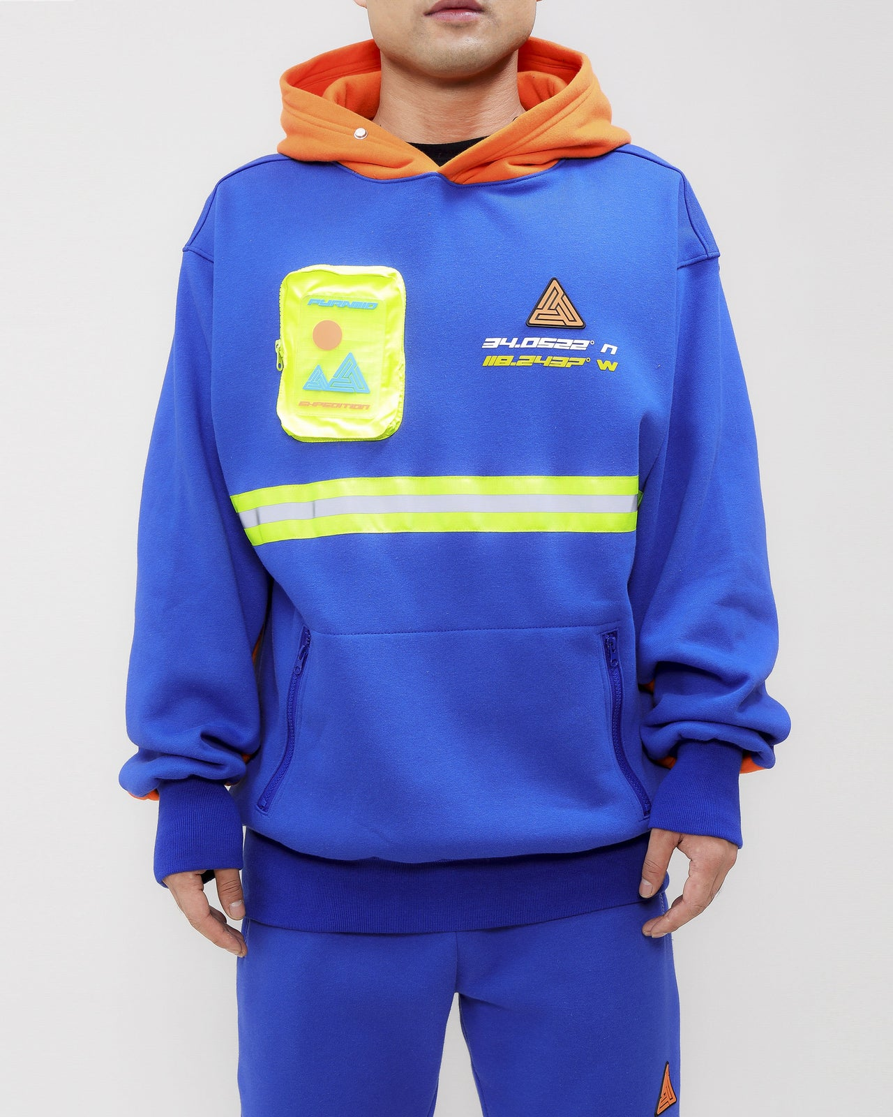 EXPEDITION HOODY-COLOR: BLUE