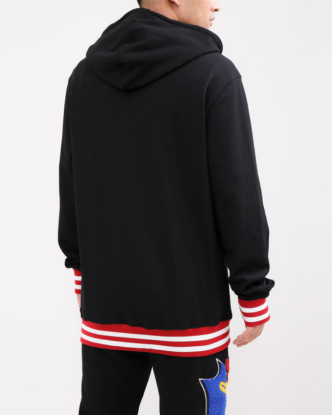 PYRAMID HUNGRY HOODY-COLOR: BLACK