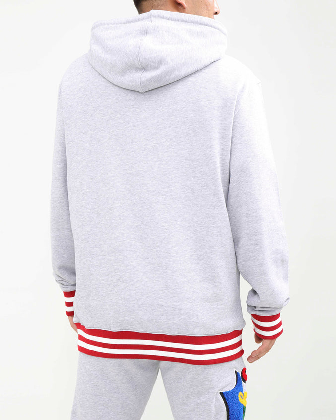 PYRAMID HUNGRY HOODY-COLOR: HEATHER GRAY