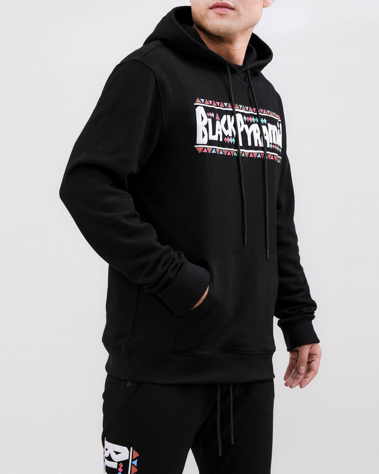 CHOICES HOODY-COLOR: BLACK
