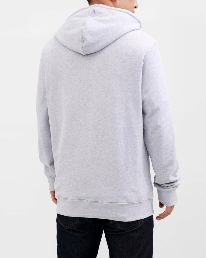 BP CREST RAINBOW HOODY-COLOR: GRAY
