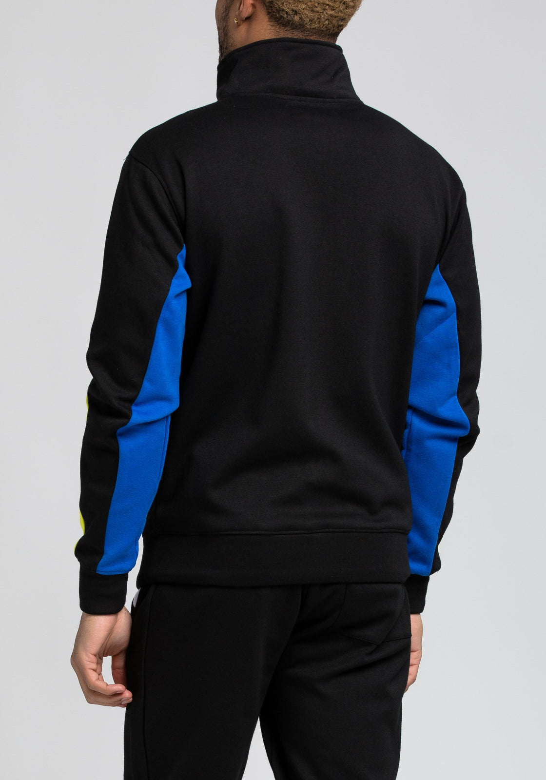 BP Cut and Sew Track Jacket - Color: Black