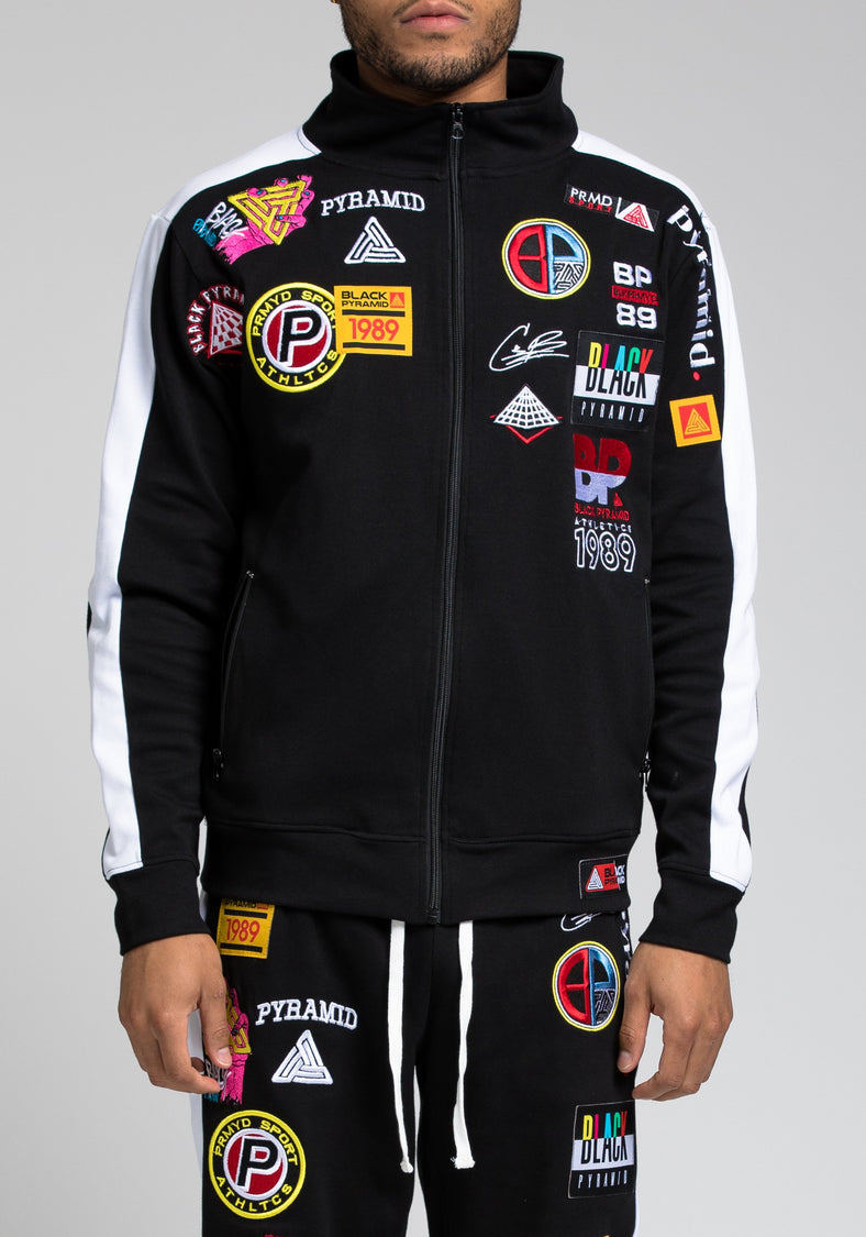 Future Patch Track Jacket