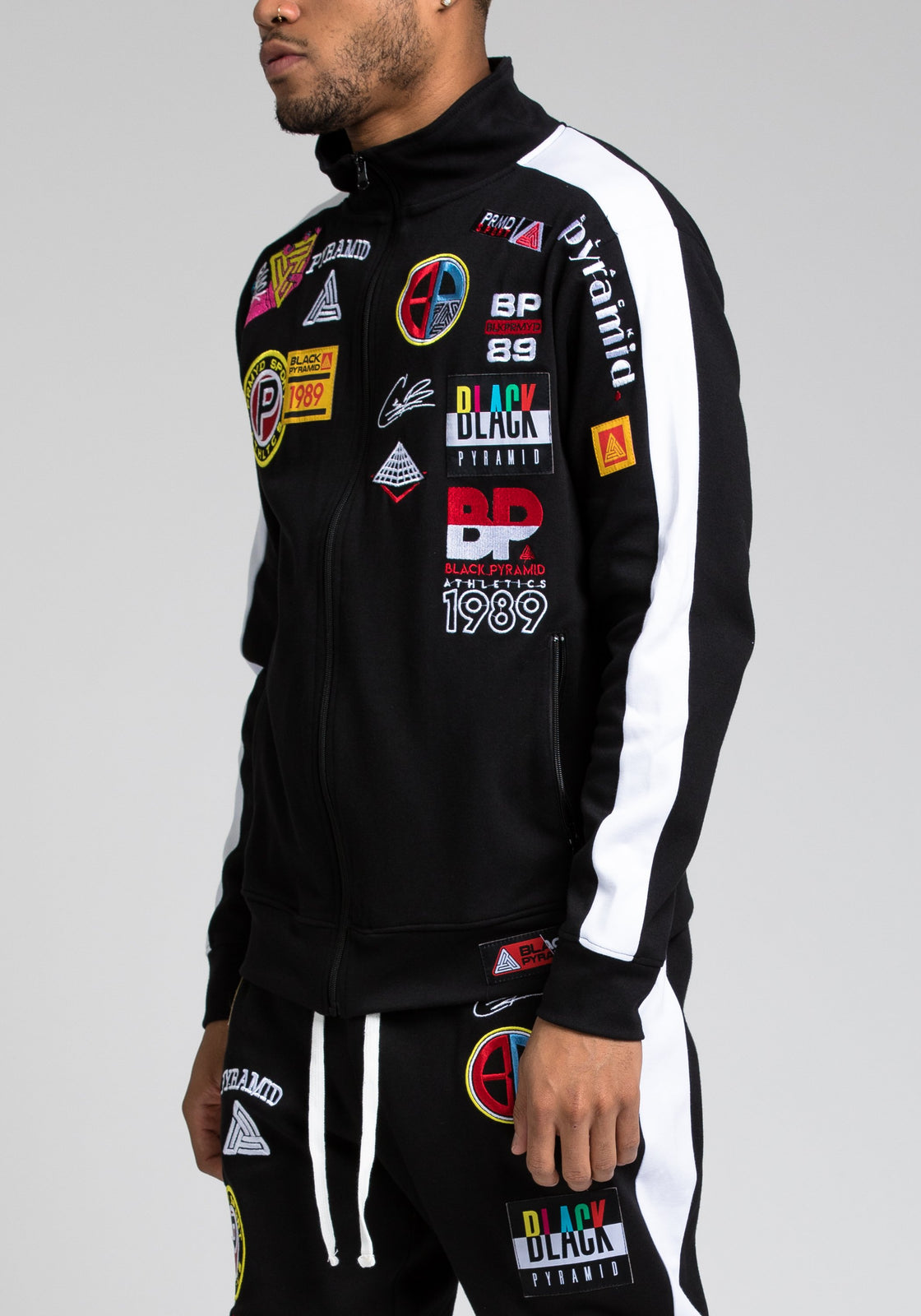 Future Patch Track Jacket - Color: Black