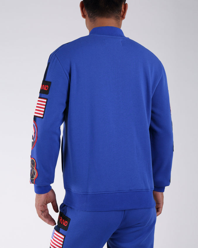 Bp Space Track Jacket - Color: BLUE