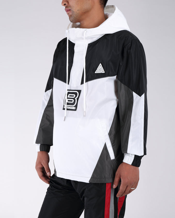 B Pyrmaid Windbreaker - Color: Black