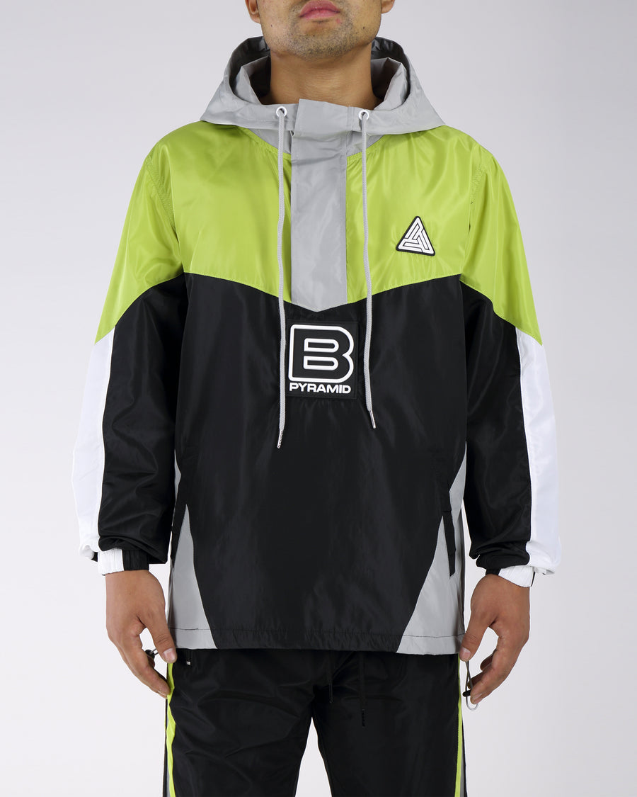 B Pyrmaid Windbreaker
