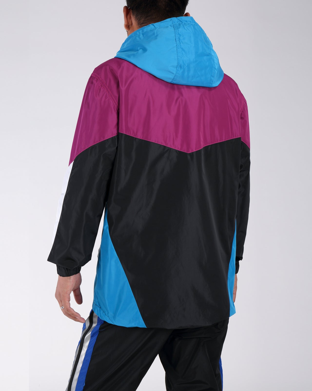 B Pyrmaid Windbreaker - Color: Purple