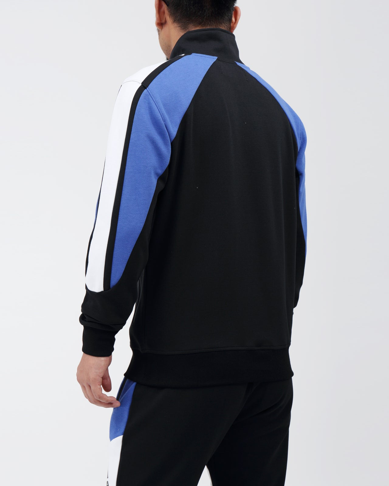 Moto Quad Track Jacket - Color: BLUE