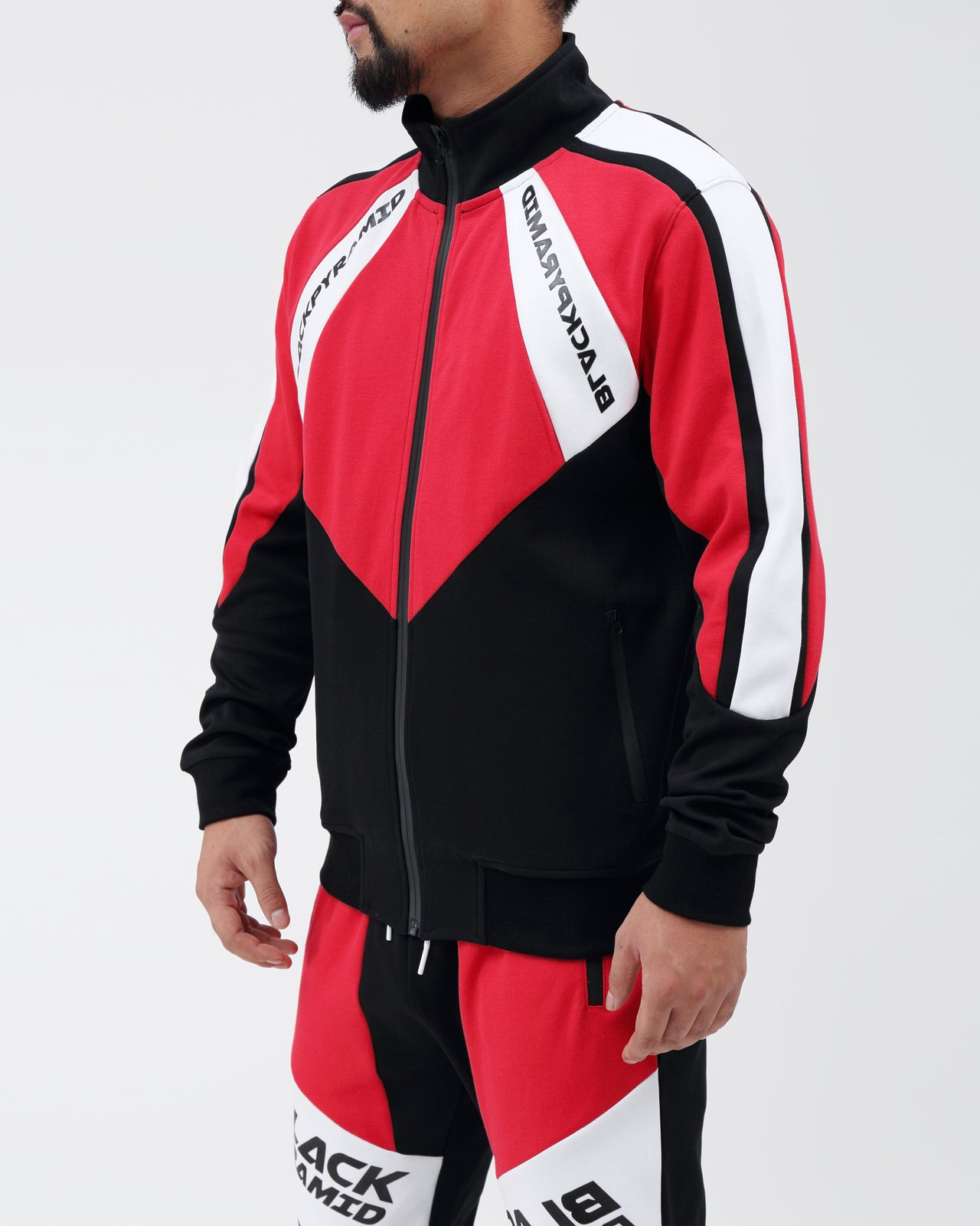 Moto Quad Track Jacket - Color: RED