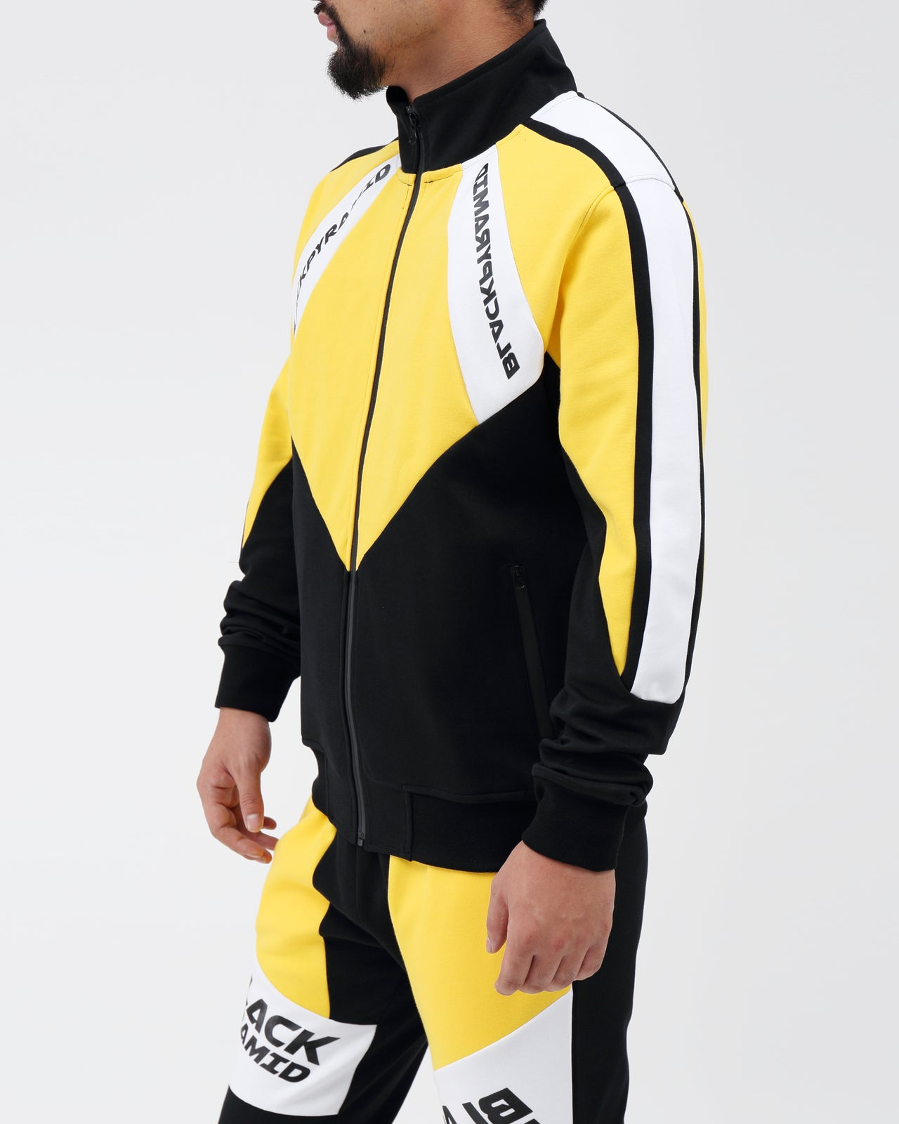 Moto Quad Track Jacket - Color: YELLOW