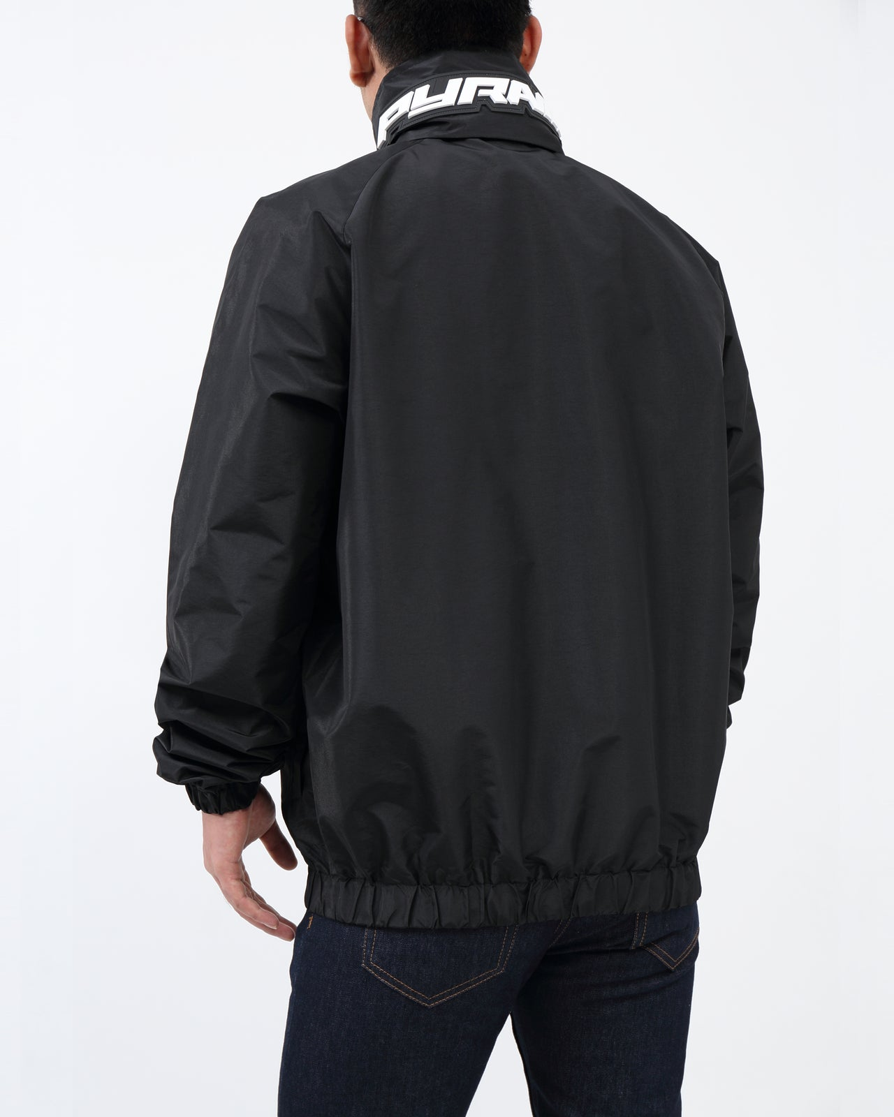 BP Iridescent Windbreaker JKT - Color: Black