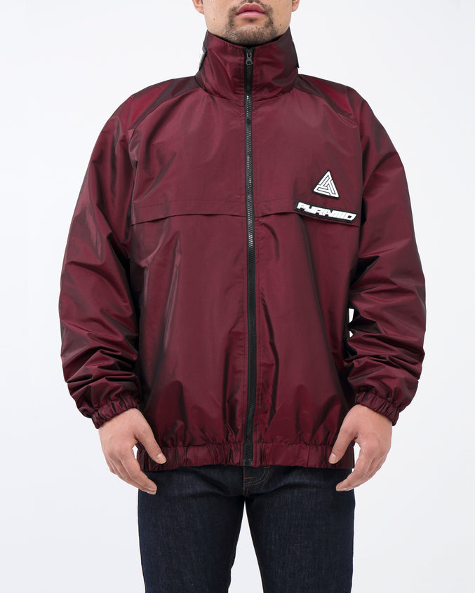 BP Iridescent Windbreaker JKT - Color: Burgundy