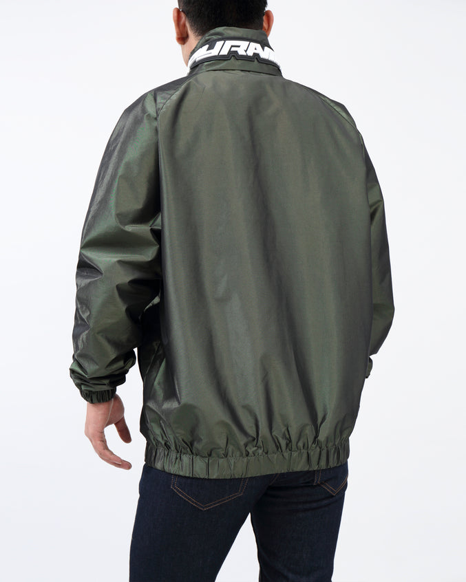 BP Iridescent Windbreaker JKT - Color: Olive