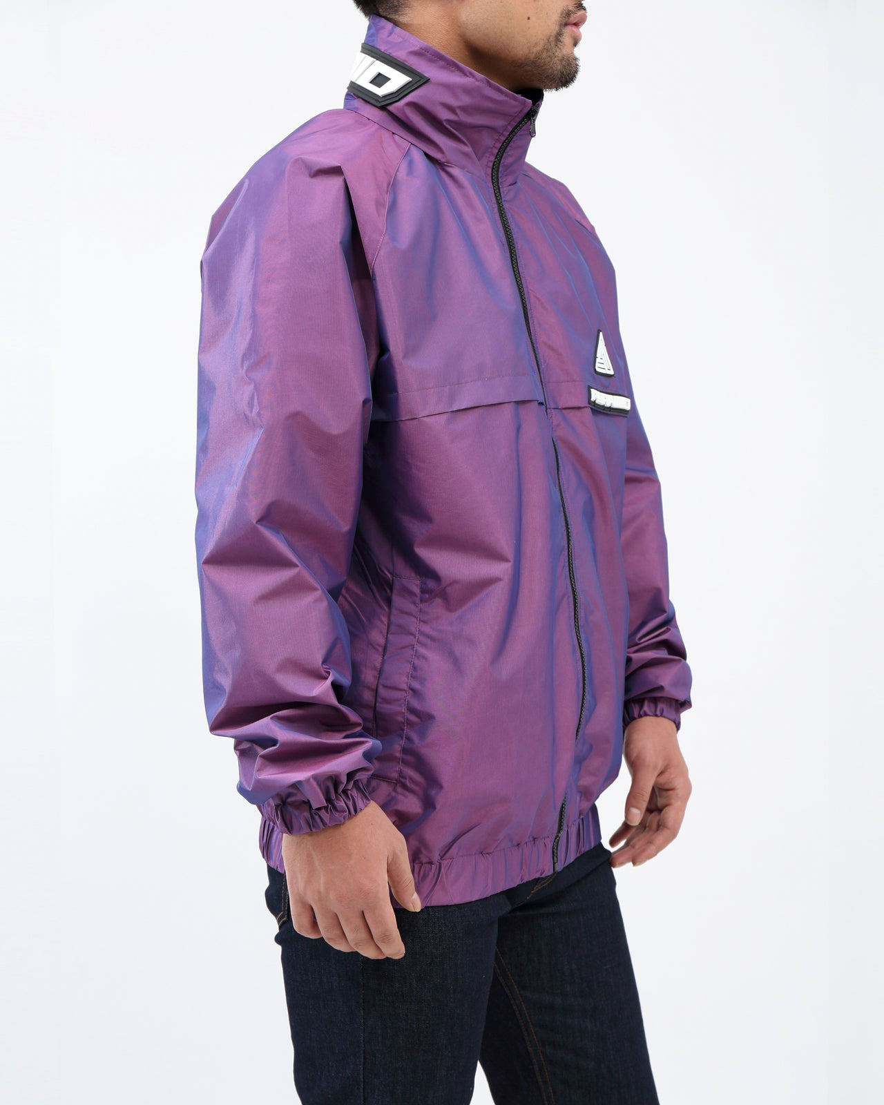 BP Iridescent Windbreaker JKT - Color: Purple