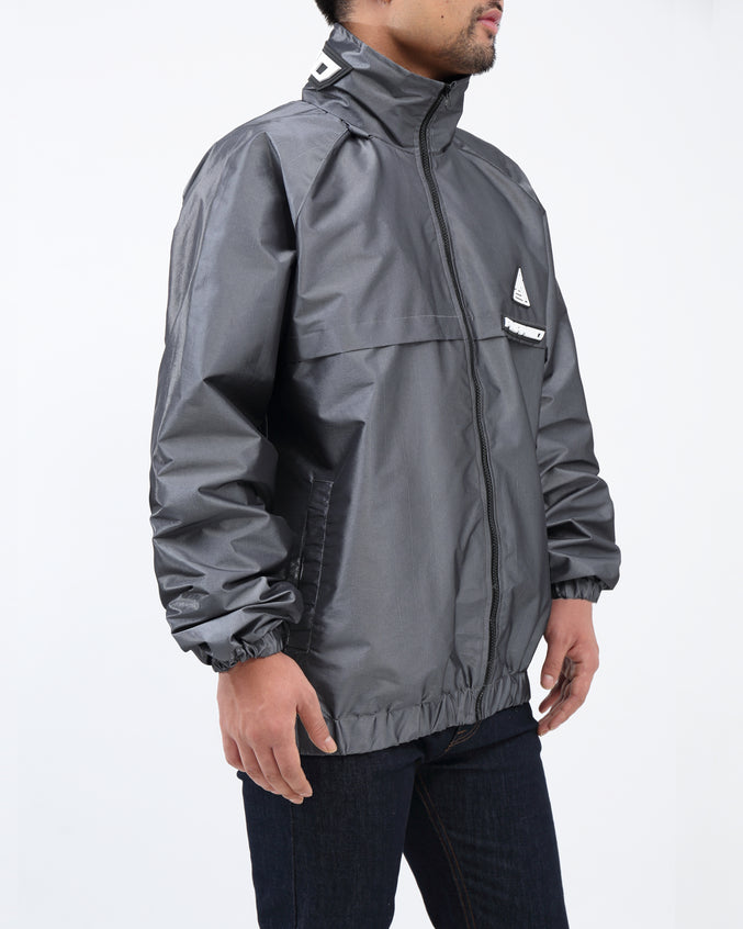BP Iridescent Windbreaker JKT - Color: Silver