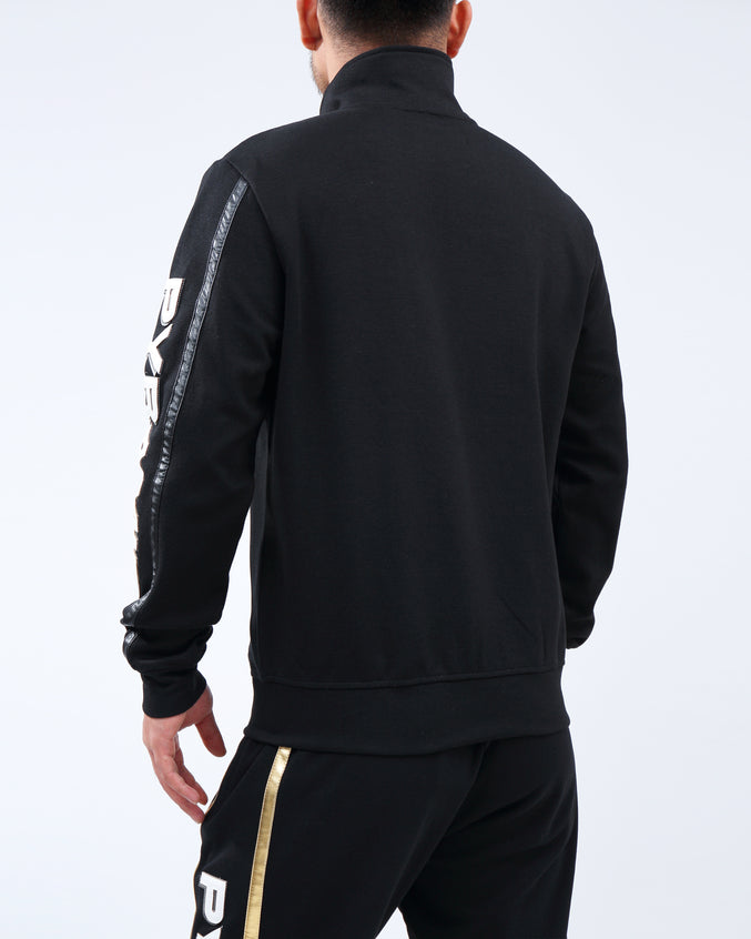 TEAM OHB BLACKOUT TRACK JACKET - Color: Black