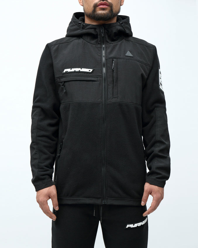 BP POLAR FLEECE JACKET - Color: BLACK