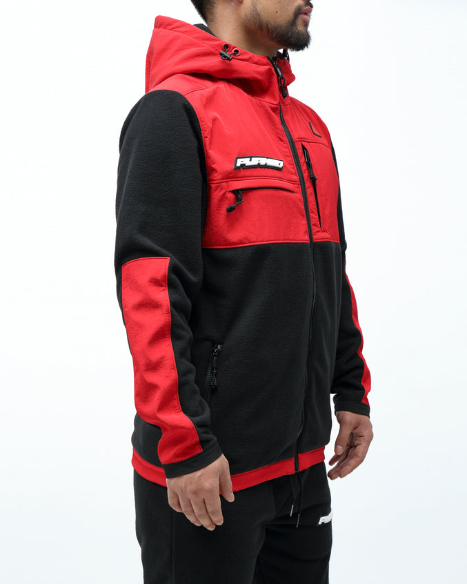 BP POLAR FLEECE JACKET - Color: RED
