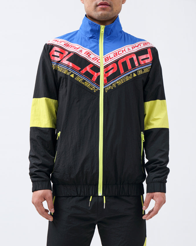 FUTURE OF NEON TRACK JACKET - Color: BLACK