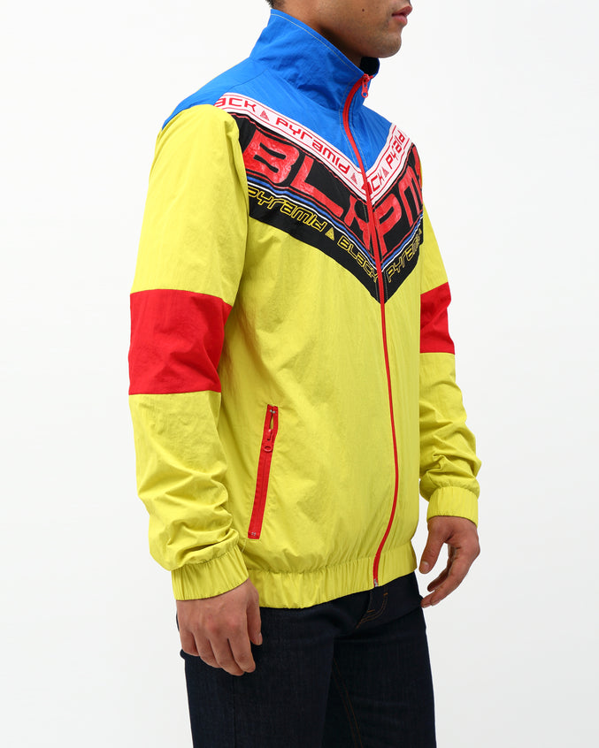 FUTURE OF NEON TRACK JACKET - Color: YELLOW