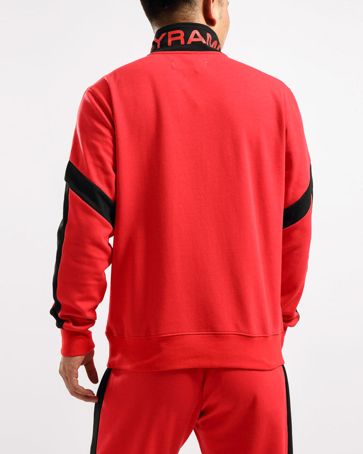 MAZE TRACK JACKET-COLOR: RED