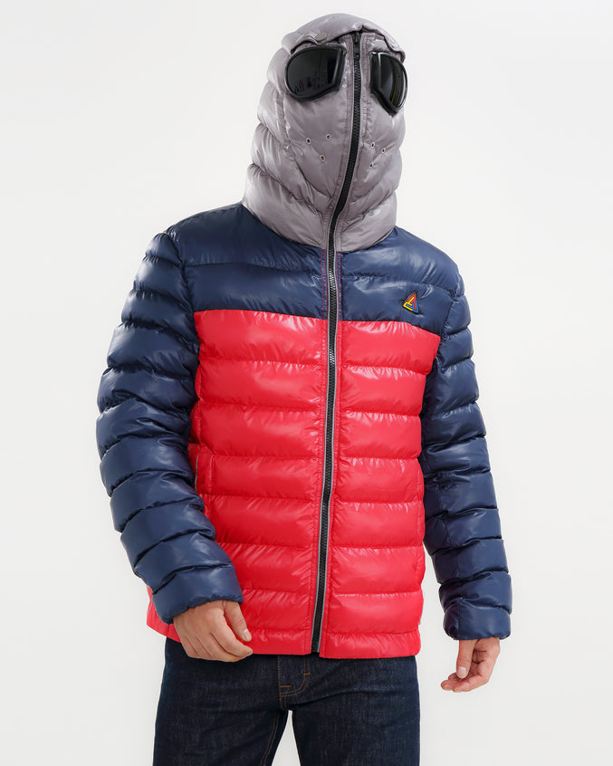 Expedition Googlr bubble Jacket-color: navy