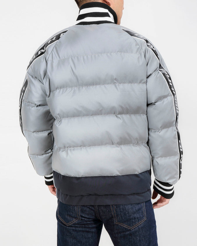 Arch Rape Puffer Jacket-COLOR: SILVER