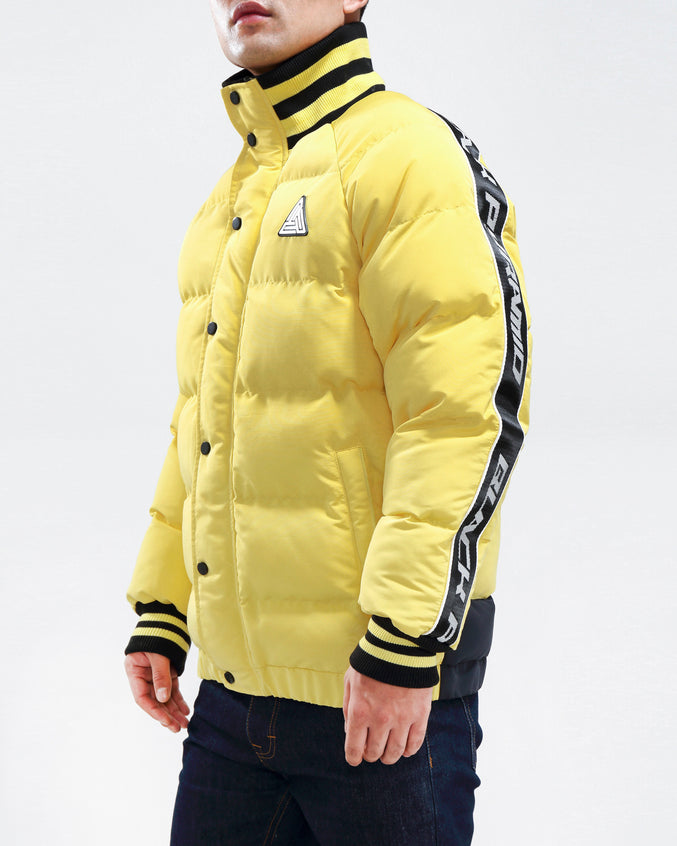 Arch Rape Puffer Jacket-COLOR: YELLOW