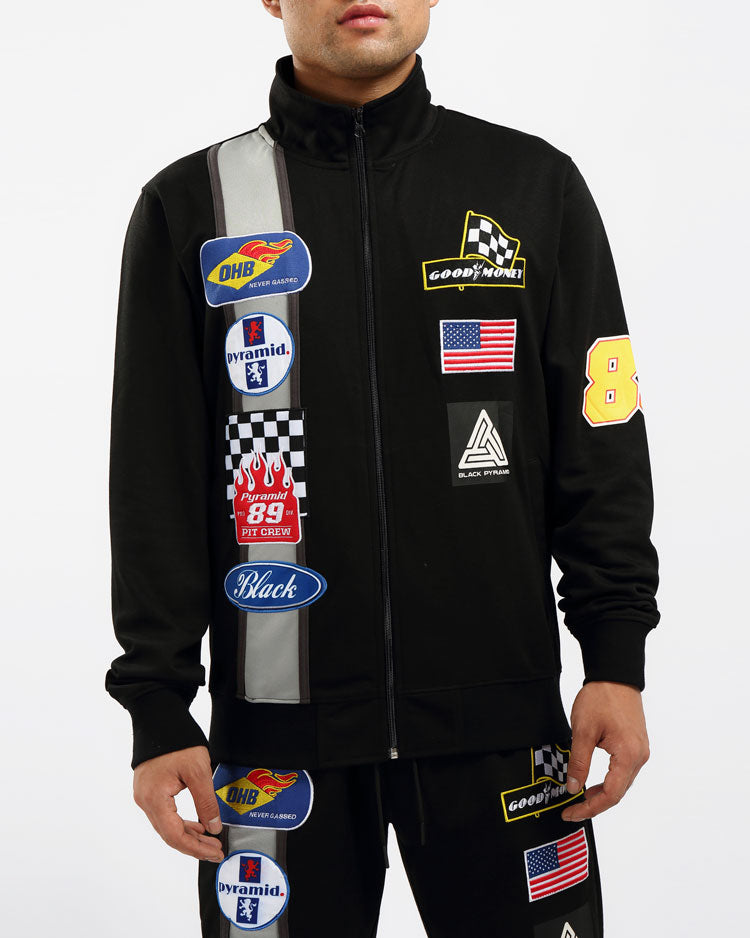 GREASE MONKEY TRACK JACKET