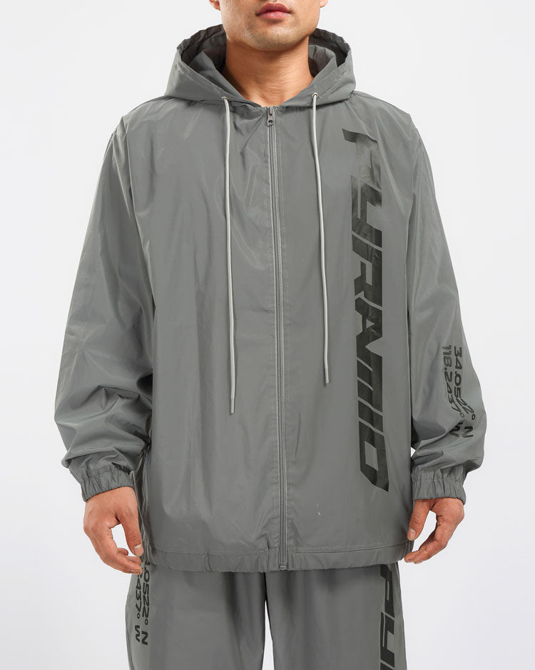 DOUBLE LAYER CLEAR WIND JACKET