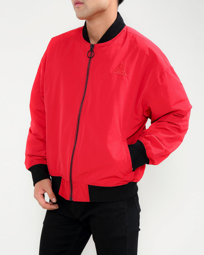 Arch Logo Jacket-COLOR: RED