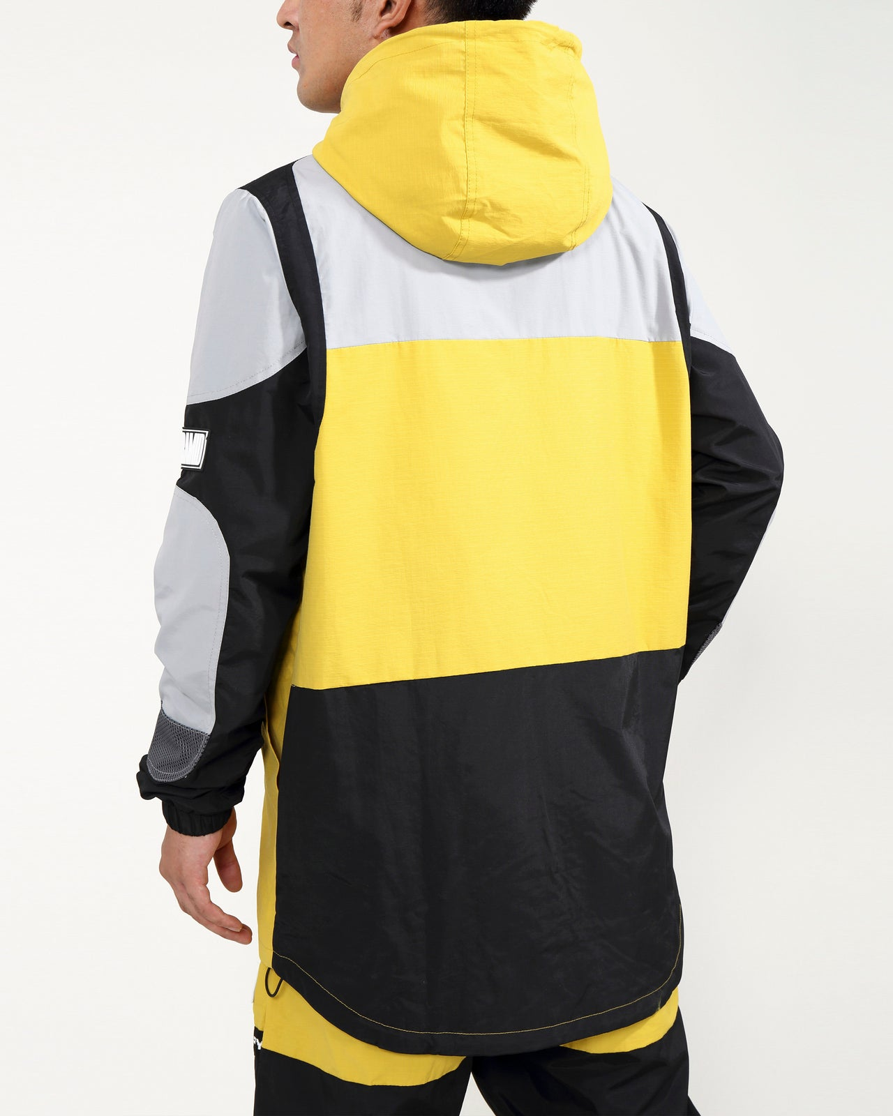 RIP STOP TECH JACKET-COLOR: YELLOW