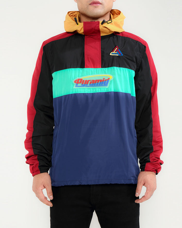 ORBIT LOGO PULLOVER WINDBREAKER