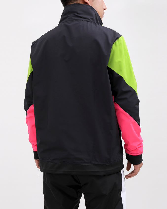 WORLDWIDE PULLOVER JACKET-COLOR: GREEN