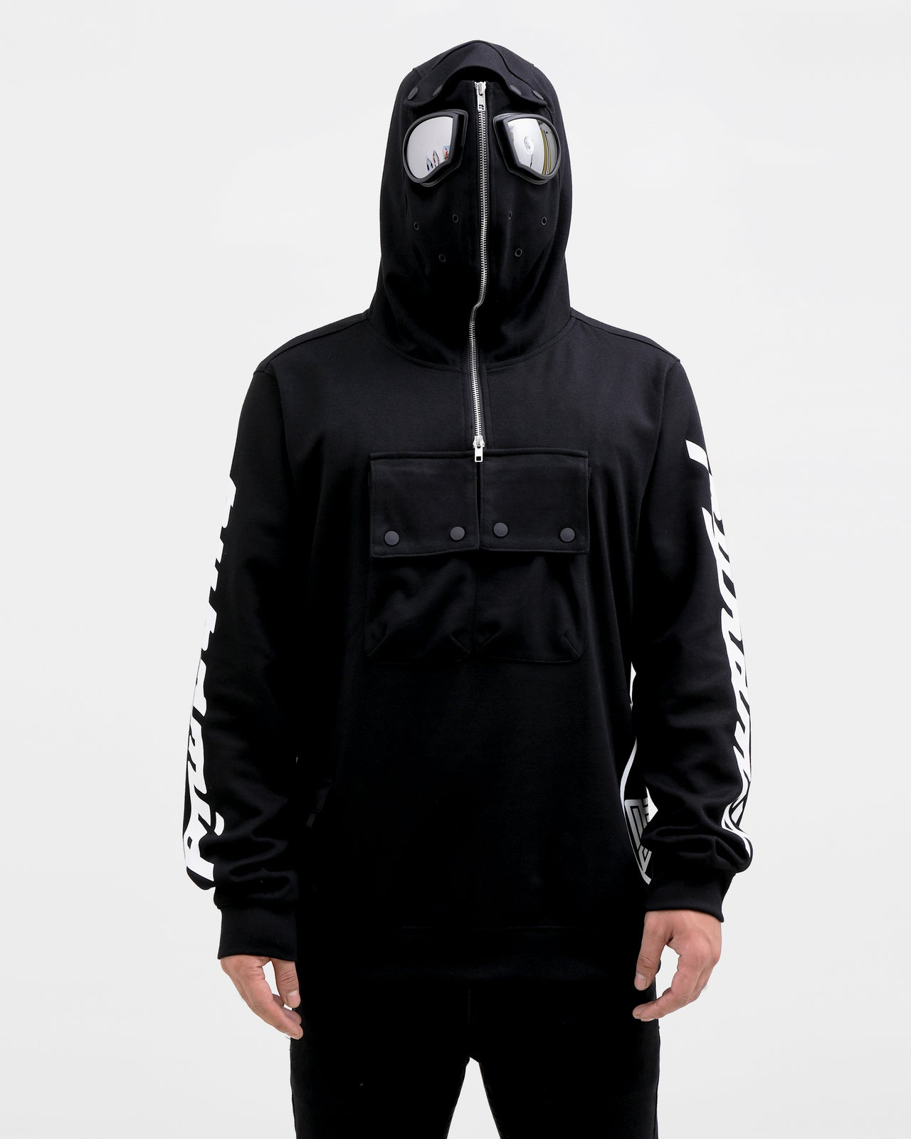 BP Hazard Hoody-COLOR: BLACK