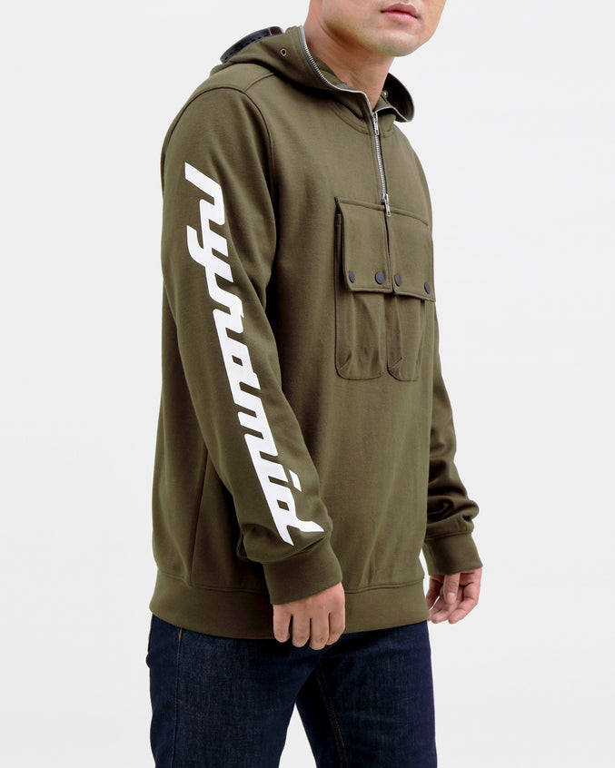 BP Hazard Hoody-COLOR: OLIVE