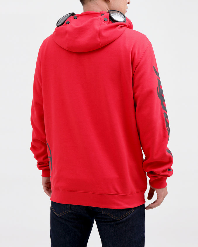 BP Hazard Hoody-COLOR: RED