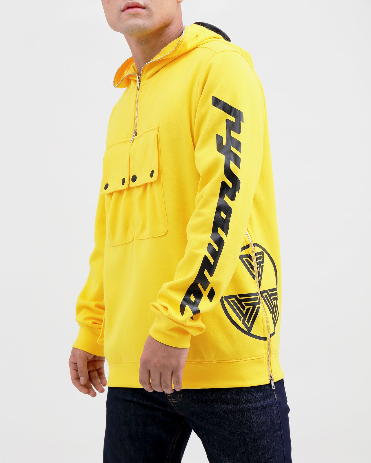 BP Hazard Hoody-COLOR: YELLOW